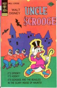 UNCLE SCROOGE 129 VF June 1976 COMICS BOOK