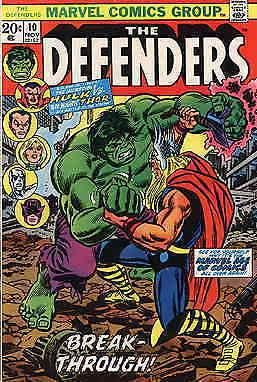 Defenders, The #10 FN Marvel - save on shipping - details inside