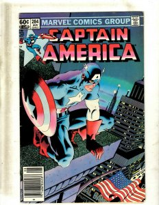 Lot of 10 Captain America Comics #284 297 298 308 309 316 321 322 323 324 GB2
