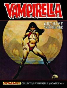 VAMPIRELLA ARCHIVES VOL #1 HARDCOVER Issues #1-7 NEW