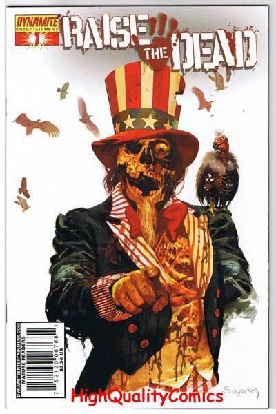 RAISE the DEAD #1, VF+, Arthur Suydam, Zombies, 2007, more horror in store