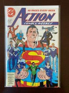 Action Comics #601 8.0 VF (1988)