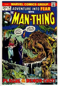 FEAR (ADVENTURES INTO) 14 VERY GOOD PLUS June 1973