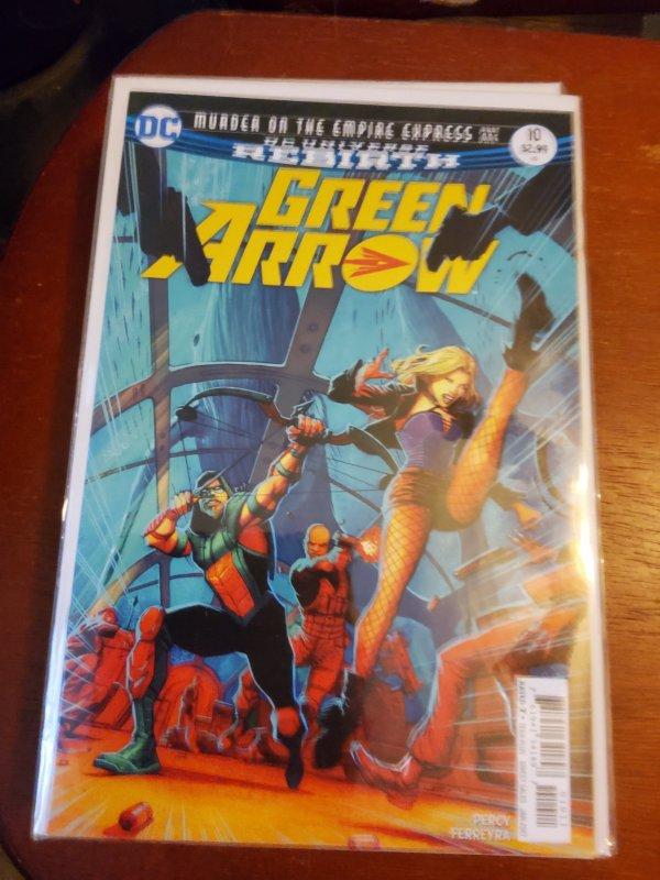 Green Arrow #10 (2017)