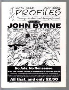 Comic Book Profiles #4 1998-John Romita issue-VF