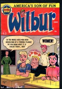 WILBUR COMICS #43-KATY KEENE PAPER DOLLS-GOOD GIRL ART-1952-VG condition VG