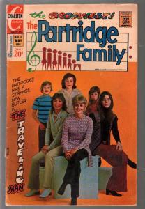 Partridge Family #18 1973-Charlton-David Cassiady-Shirley Jones-VG