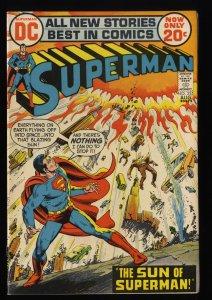 Superman #255 NM 9.4