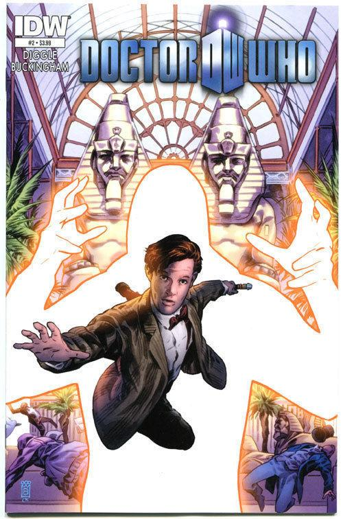 DOCTOR WHO #2, VF/NM, Hypothetical Gentleman, 2012, more DW in our store