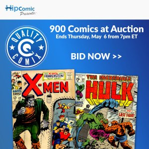 Quality Comix Auction Event #46