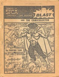 Rocket's Blast  & Comicollector #44 1966-Buddy Saunders-Rogofsky-Jerry Bails-VG-