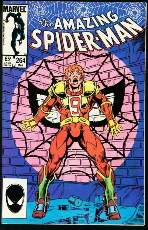 AMAZING SPIDER-MAN #264-1985-MARVEL-NM NM