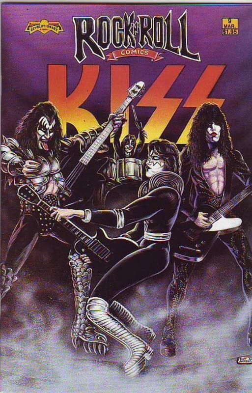 Rock 'N' Roll Comics #9 (Mar-90) NM Super-High-Grade
