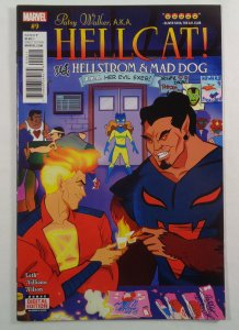 Patsy Walker Hellcat #9 VF/NM Front/Back Cover Photos Marvel 2016