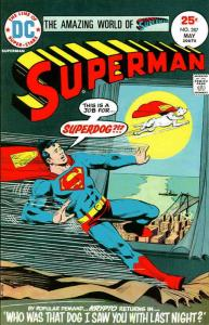 Superman (1st Series) #287 VG; DC | low grade comic - save on shipping - details
