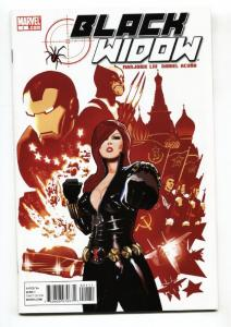 Black Widow #1 2010- First issue-Iron Man- NM-