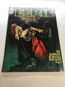 Eerie 46 Vg Very Good 4.0 Water Damage Magazine 1972