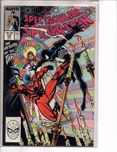 Marvel Comics The Spectacular Spider-Man #137 Sal Buscema Art Tarantula