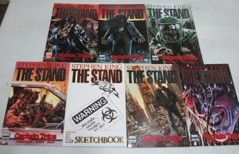 STAND, THE CAPTAIN TRIPS (2008) 1-5, variant covers Ste