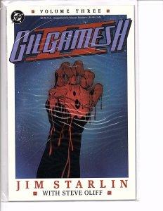 DC Comics Gilgamesh II #3 Jim Starlin Story and Art & Spanner's Galaxy #4