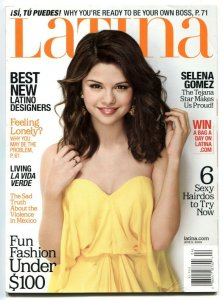 Latina April 2009- Selena Gomez- Glamour Magazine VF