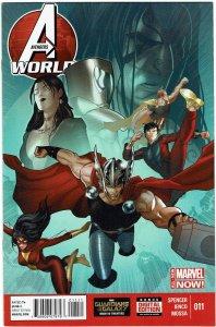 Avengers World #11 Iron Man Hulk NM
