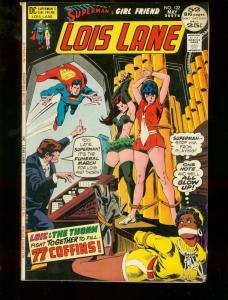 SUPERMAN'S GIRL FRIEND LOIS LANE #122 DC HOT COVER ART FN-