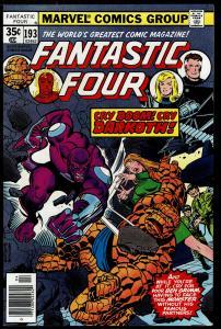Fantastic Four #193 (Apr 1978  Marvel) 9.2 NM-