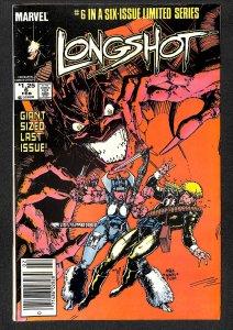 Longshot #6 (1986)