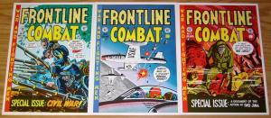Frontline Combat Portfolio - wally wood - harvey kurtzman - jack davis - severin