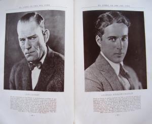 El Libro de Oro del Cine de 1927 Estrellas Cine Mudo Hallazgo