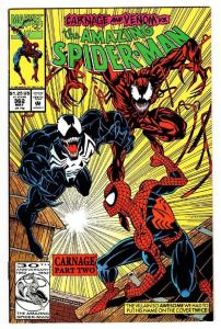 SPIDER-MAN #362, VF/NM, Carnage, Venom, Amazing, 1963, more ASM in store