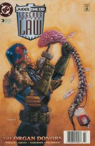 Judge Dredd: Legends of the Law #3, VF+ (Stock photo)