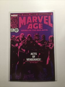 Marvel Age 81 Near Mint Nm Marvel