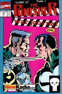 Punisher War Journal (1988 series) #35, NM- (Stock photo)
