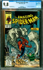 Amazing Spider-Man #303 CGC Graded 9.8 Sandman & Silver Sable appearance.