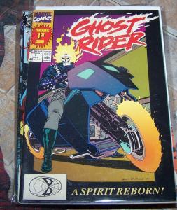 ghost rider  #1 a spirit reborn 1st apperance Danny Ketch key  1st deathwatch