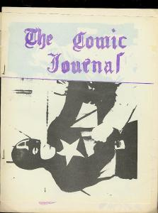 COMIC JOURNAL-FANZINE-MARVEL-ATLAS-PAUL GAMBACCINI-1966 VG/FN