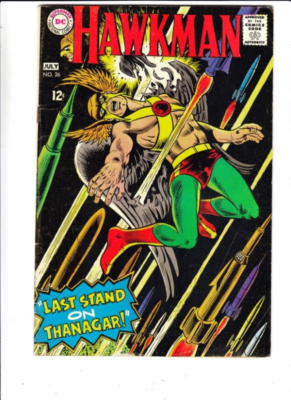 Hawkman #26 (Jul-68) FN/VF+ Mid-High-Grade Hawkman