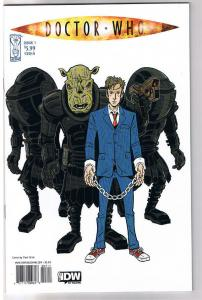 DOCTOR WHO #3 A, NM, Paul Grist, Fugitive, Judoon, 2009, IDW, more DW in store