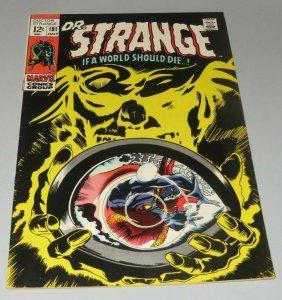 Dr. Strange #181 VF- 1969 Marvel Silver Age Comic Nightmare App Tough Black Cvr.
