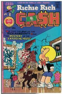 RICHIE RICH CASH (1974-1982) 7 G-VG Sept. 1975