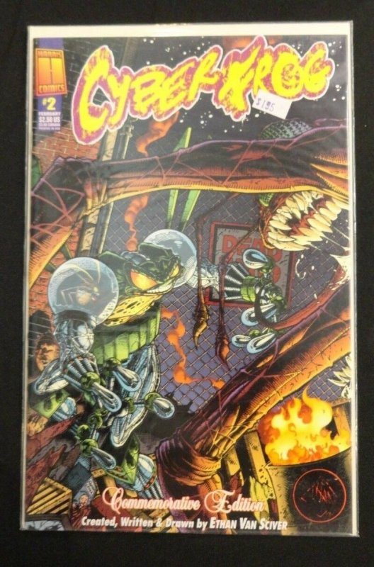 Cyberfrog #2 Commemorative Edition Art/Story By Ethan Van Sciver