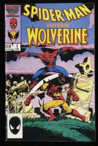 Spider-Man Vs. Wolverine #1 VF- 7.5