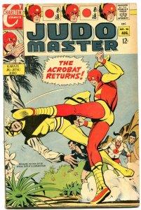 Judo Master #96 1967- Karate Jiu-Jitsu- Charlton comics FN