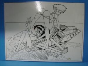 Jeff Wood SnowBuni Signed Art A8
