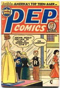 Pep Comics #85 1951- Archie- Suzie- Katy Keene Wilbur VG/F