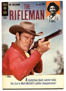 RIFLEMAN #20 1964-GOLD KEY-CHUCK CONNORS-JOHNNY CRAWFORD-FINAL ISSUE VF+