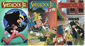 SHERLOCK JR. (1990 ET) 1-3  R.S.Smith (The Gumps)