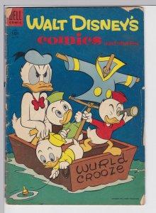 Walt Disney Comics and Stories 177 - June 1955 GD Dell